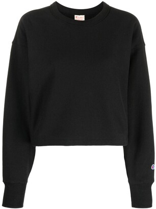 Champion Cropped Crewneck Sweatshirt
