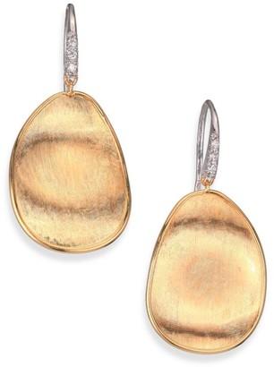 Marco Bicego Lunaria Diamond & 18K Yellow Gold Drop Earrings