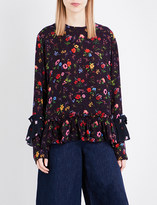 Preen Line Milly crepe top