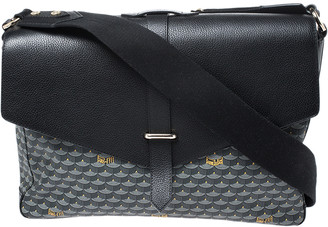 Express Faure Le Page Black/Grey Canvas and Leather 36 Bag