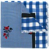 Marc Jacobs Pop Bouquet print scarf