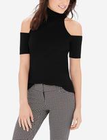 The Limited Turtleneck Cold Shoulder Sweater