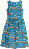 Cath Kidston Peter Pan in London Sleeveless Dress