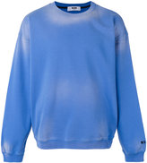 MSGM washout sweatshirt - men - Cotton - S