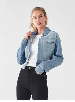 DL1961 Annie Full Length Jacket | Deacon
