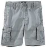 Osh Kosh Boy's Cargo Shorts in Grey