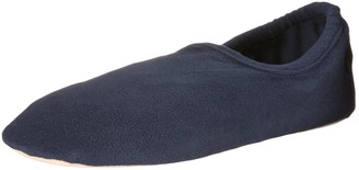 Isotoner mens Classic Stretch Fleece Slippers