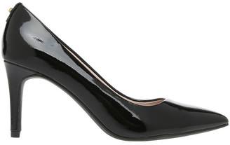 Basque Heavenly Black Patent Heel