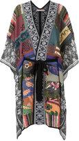 Cecilia Prado knit poncho - women - Cotton - One Size
