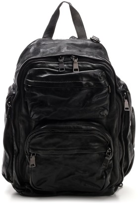 Officine Creative Multi-Pocket Backpack