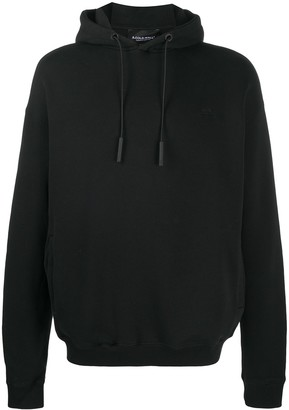 A-Cold-Wall* Logo Print Slouchy Hoodie