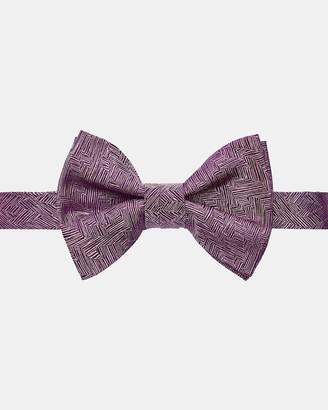 Ted Baker DOBOW Geometric silk bow tie