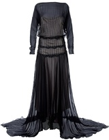 Antonio Marras Vintage tired floor length dress