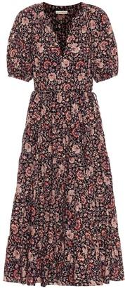 Ulla Johnson Claribel cotton and wool midi dress