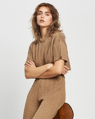 Reverse Knit Set