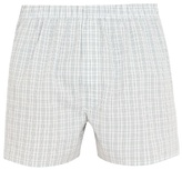 Sunspel Check-print cotton boxer shorts