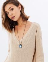 Mavi Pendant with Bead, Mini and Charm