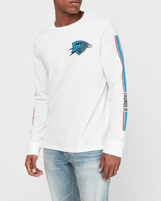 Express Oklahoma City Thunder Nba Long Sleeve Graphic T-Shirt