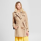 A New Day Women's Hooded Trench Coat