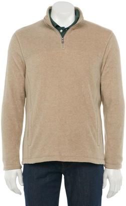 Croft & Barrow Men's Extra-Soft Arctic Fleece Quarter-Zip Pullover