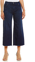 Eileen Fisher 5-Pocket Wide Leg Cropped Jeans