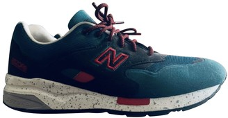 New Balance Turquoise Suede Trainers