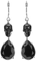 Alexander McQueen Skull Crystal Drop Earrings