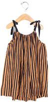 Bonpoint Girls' Sleeveless Striped Dress