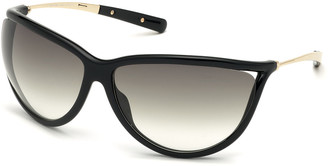 Tom Ford Gradient Shield Acetate Sunglasses