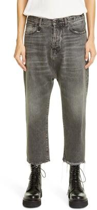R 13 Tailored Drop Crotch Jeans