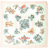 Hermes Confidents Descoeurs Silk Scarf