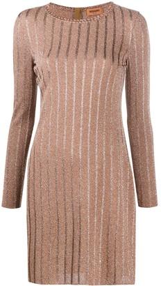 Missoni Glitter Knitted Shift Dress
