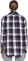 Current/Elliott Prep School Cotton Shirt in Graystone