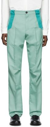 KIKO KOSTADINOV Green Tulcea Tailored Trousers