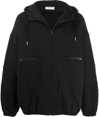 Givenchy Vintage Oversized Zipped Hoodie