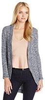 Splendid Women's Sparkle Loose Knit Cozy Cocoon Cardigan