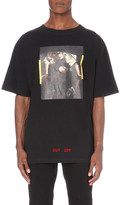 Off-White Narcissus cotton-jersey t-shirt