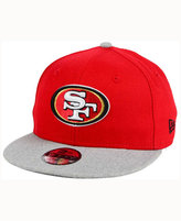 New Era Kids' San Francisco 49ers Heather 9FIFTY Snapback Cap