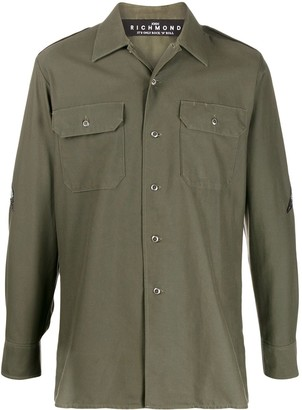 John Richmond Military Shirt