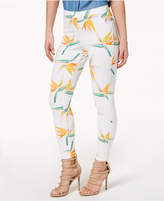 Hue Tropical Floral Simply Stretch Skimmer Leggings