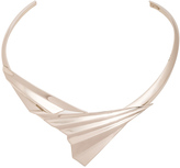 Givenchy Folded Metal Choker