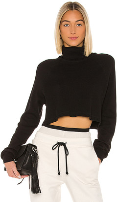 The Range Stark Waffle Knit Cropped Turtleneck