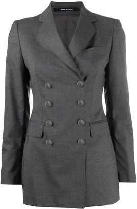 Tagliatore Double-Breasted Wool Blazer