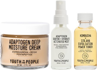 YOUTH TO THE PEOPLE Exfoliate + Deeply Hydrate Kit