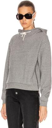 John Elliott Hooded Villain Sweatshirt in Heather Grey | FWRD