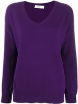 Closed oversized cashmere jumper