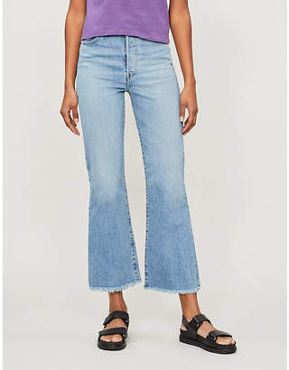 Levi's Ribcage high-rise flare jeans