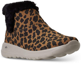 Skechers Women On The Go Joy Snow Kitty Winter Boots from Finish Line