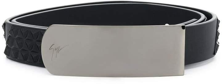 Giuseppe Zanotti Design studded belt