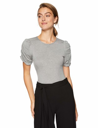 BCBGeneration Women's Puff Sleeve Bodysuit